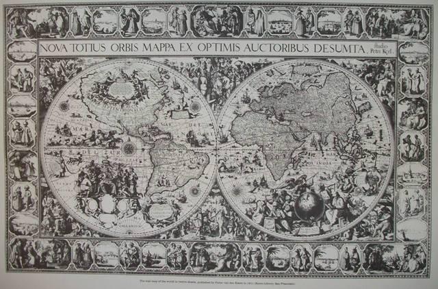 Nova totius orbis mappa ex optimus auctoribus desumta