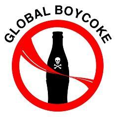קריאה לחרם בינלאומי על קוקה קולה. האם בקרוב גם על ויקיפדיה?